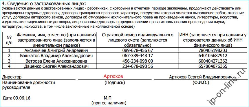 Сзв М Инструкция По Заполнению Кого Включать - фото 5
