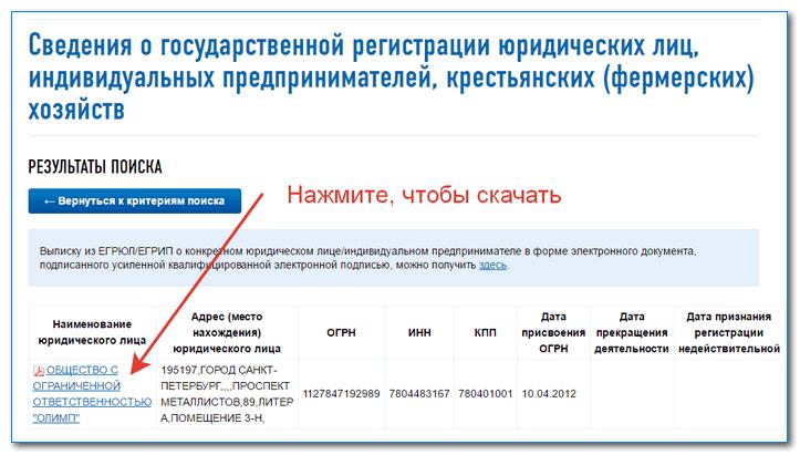 Как проверить контрагента на сайте налоговой по ИНН